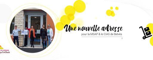 nouvelle adresse MSAP CIAS de belvès