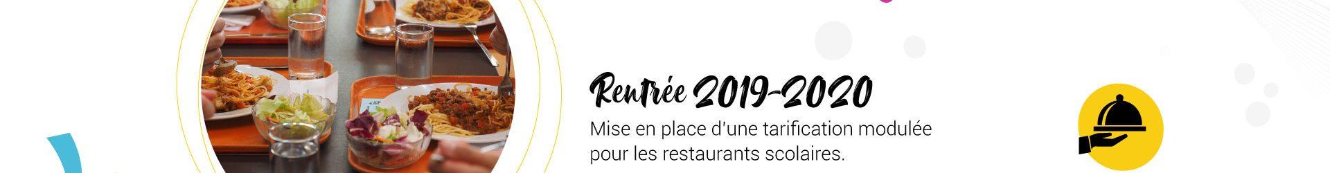 Restauration scolaire 2019-2020