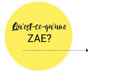 Qu'est ce qu'une ZAE ?