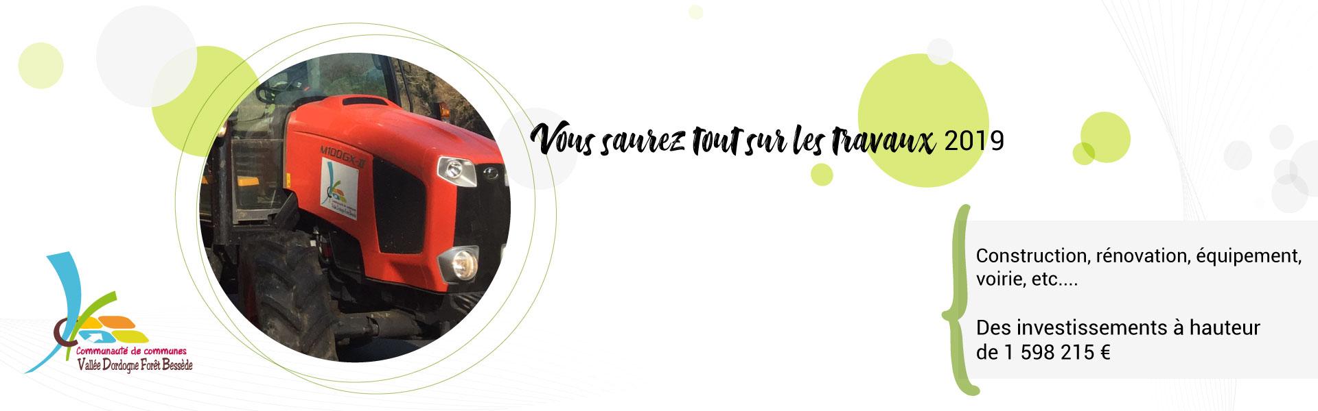 Travaux 2019