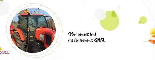 travaux 2019 Communauté de communes vallée dordogne forêt bessède