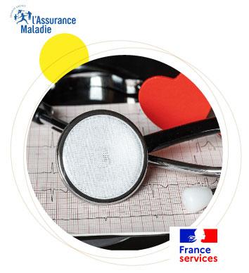 nouvelles demarches France Service CPAM