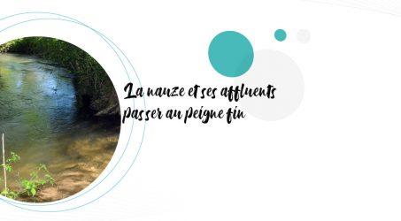 Étude du bassin versant de la Nauze et de ses affluents