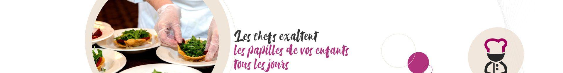Les chefs de cuisine à l'honneur