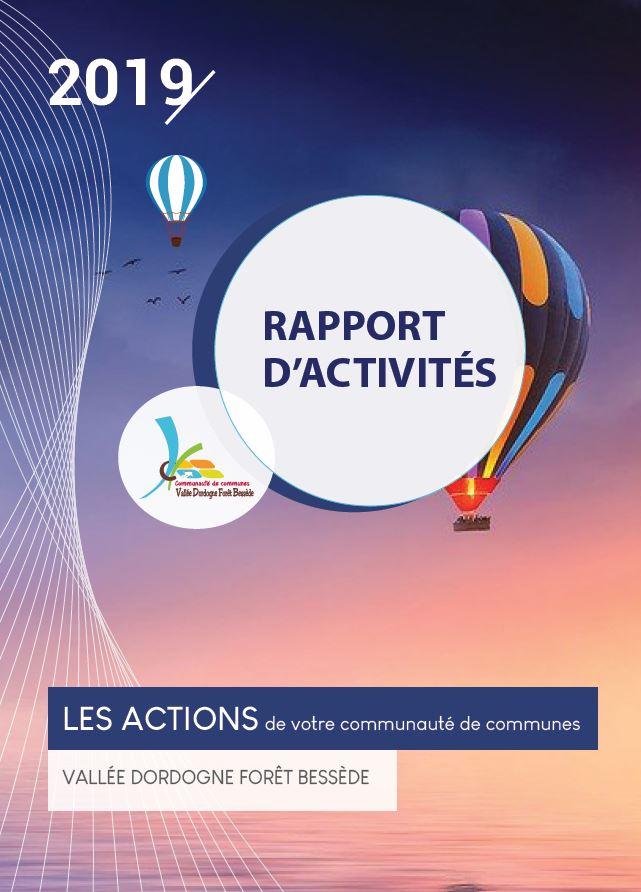Rapport d'activité 2019 CCVDFB