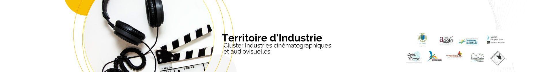 Territoires d'industrie : convention signée pour le Cluster Industries cinématographiques et audiovisuelles